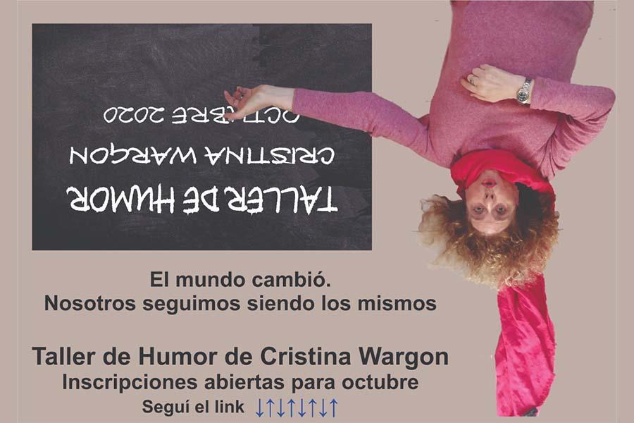Taller de Humor Creativo 2021 Cristina Wargon